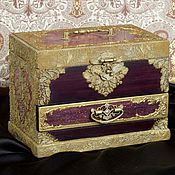 Для дома и интерьера handmade. Livemaster - original item Jewelry box and jewelry