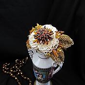 """Украшения ручной работы. Ярмарка Мастеров - ручная работа Браслет """"Цвета Золота и Беж"""". Handmade."""
