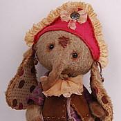 """Куклы и игрушки ручной работы. Ярмарка Мастеров - ручная работа Слоник тедди """"Пероне"""" (Perone). Handmade."""