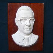 Для дома и интерьера ручной работы. Ярмарка Мастеров - ручная работа скульптурный портрет, барельеф. Handmade.
