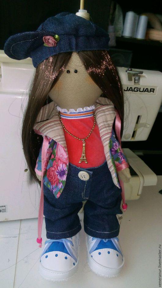 Коллекционные куклы ручной работы. Ярмарка Мастеров - ручная работа. Купить Кукла большеножка Карина. Handmade. Текстильная кукла