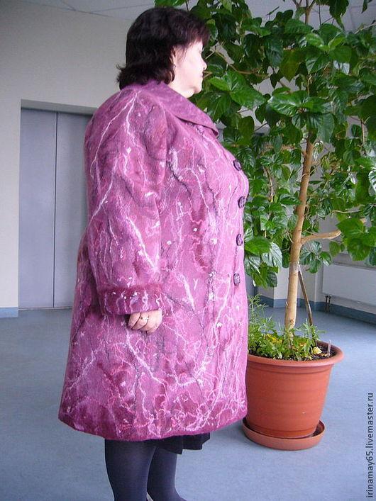 """Верхняя одежда ручной работы. Ярмарка Мастеров - ручная работа. Купить Пальто """" Розовая дымка """". Handmade. Розовый"""
