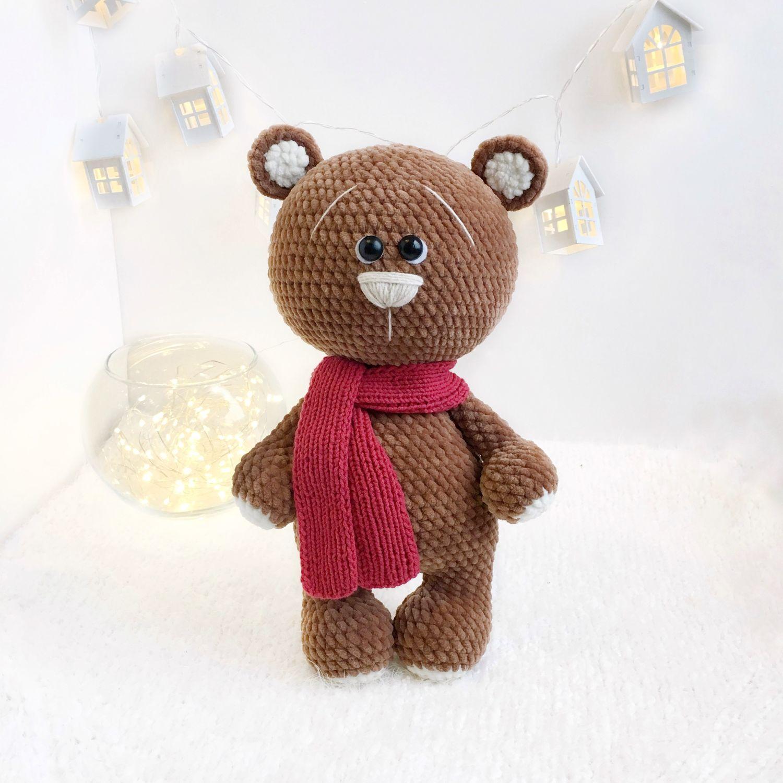 Большой медвежонок, Мягкие игрушки, Москва,  Фото №1