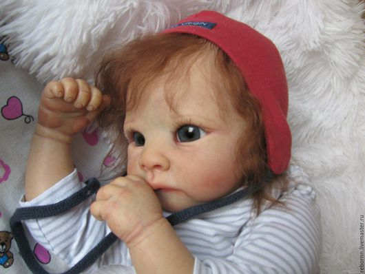 Куклы-младенцы и reborn ручной работы. Ярмарка Мастеров - ручная работа. Купить Кукла реборн. Handmade. Бежевый, молд harry