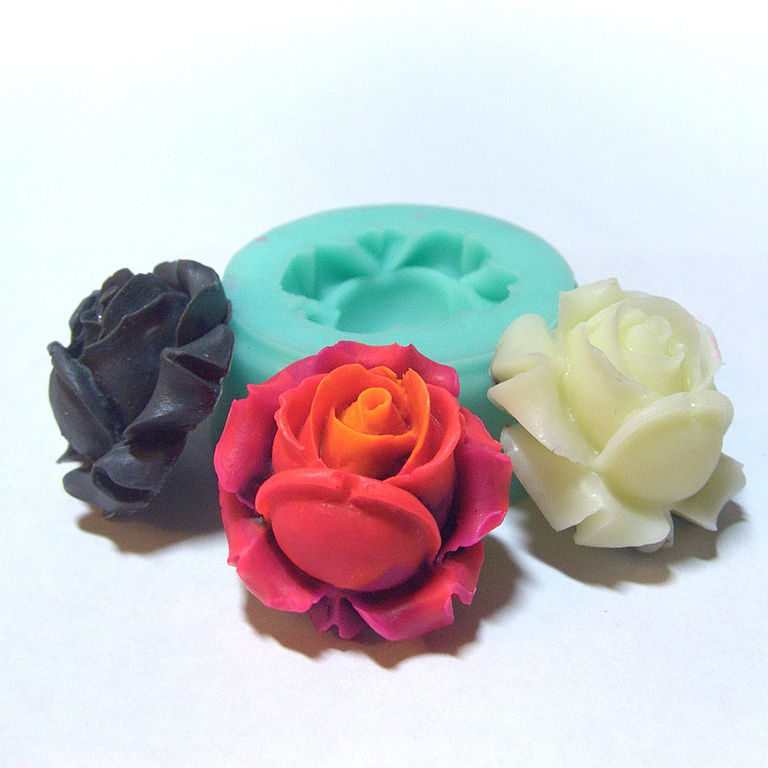 Цветы из силикона своими руками