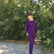 Одежда ручной работы. Ярмарка Мастеров - ручная работа Костюм из плотного итальянского трикотажа. Handmade.