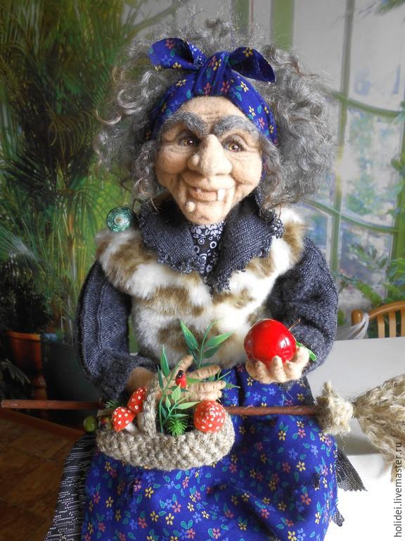 BABA YAGA felt, Dolls, Zelenograd,  Фото №1