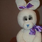 Куклы и игрушки ручной работы. Ярмарка Мастеров - ручная работа Зайка с шариком. Handmade.