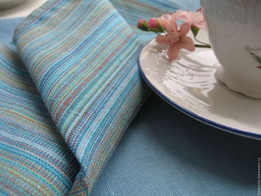 """Для дома и интерьера ручной работы. Ярмарка Мастеров - ручная работа. Купить Комплект полотенец для кухни """"Весенний"""". Handmade. Голубой"""