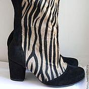 """Обувь ручной работы. Ярмарка Мастеров - ручная работа Ботфорты """"Лаконичная Австралия"""". Handmade."""