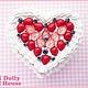 """Шкатулки ручной работы. Ярмарка Мастеров - ручная работа. Купить Шкатулка """"Berry Cake"""". Handmade. Dolly house, сладости из пластики"""