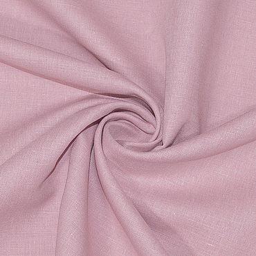 Материалы для творчества ручной работы. Ярмарка Мастеров - ручная работа Ткань льняная блузочно-плательная Розовый. Handmade.