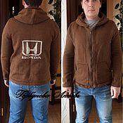 """Одежда ручной работы. Ярмарка Мастеров - ручная работа куртка-свитер """"Хонда"""". Handmade."""
