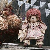 Куклы и игрушки ручной работы. Ярмарка Мастеров - ручная работа Зайка в  горошек.. Handmade.
