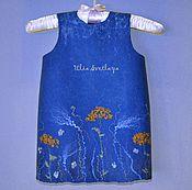 """Работы для детей, ручной работы. Ярмарка Мастеров - ручная работа Платье для девочки """"Осенние травы"""". Handmade."""