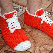 Обувь ручной работы. Ярмарка Мастеров - ручная работа Мужские носки-кеды. Handmade.