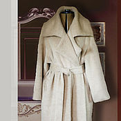 Одежда handmade. Livemaster - original item Cocoon coat, two-in-one in the style of Max Mara. Handmade.