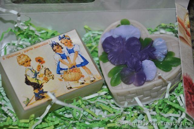 Подарочный набор мыла для Воспитателя, Мыло, Москва,  Фото №1