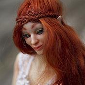 Куклы и игрушки handmade. Livemaster - original item 3d printer ball joined doll, Red elf. Jointed doll.. Handmade.