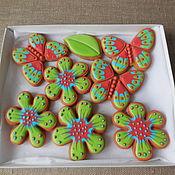 Сувениры и подарки handmade. Livemaster - original item Set of gingerbread. Summer. Handmade.