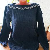 Одежда ручной работы. Ярмарка Мастеров - ручная работа Простой джемпер.. Handmade.