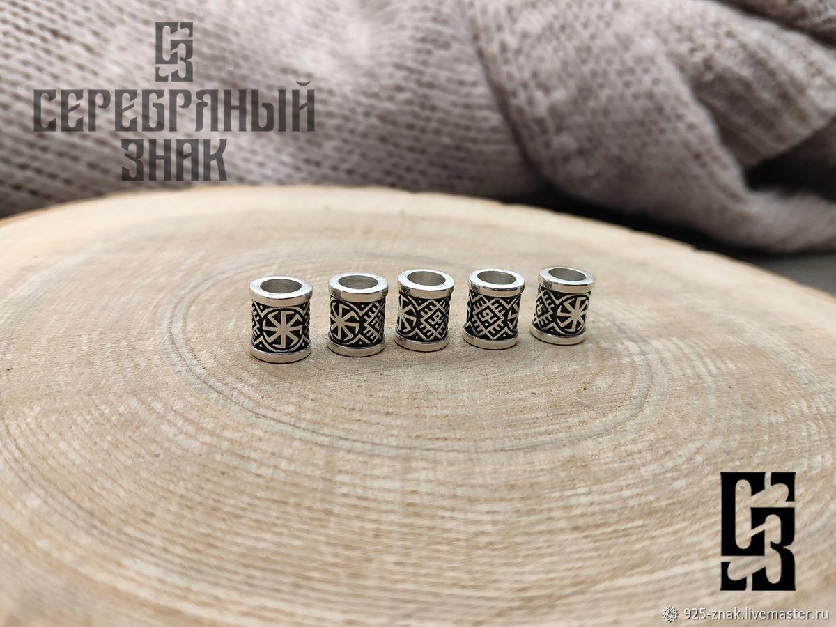 Rotifer bead. Caution. Silver 925 art.1080401, Beads2, St. Petersburg,  Фото №1