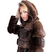 Одежда ручной работы. Ярмарка Мастеров - ручная работа Куртка меховая из бобра. Handmade.