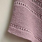 """Аксессуары ручной работы. Ярмарка Мастеров - ручная работа Традиционная датская шаль """"Ash rose"""" , бохо шаль вязаная. Handmade."""