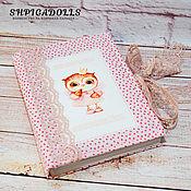 Канцелярские товары handmade. Livemaster - original item Notebook in soft cover Mama`s notes