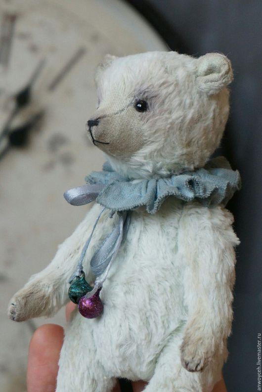 Мишки Тедди ручной работы. Ярмарка Мастеров - ручная работа. Купить Мятный Тедди Мишка Себастьян. Handmade. Мятный, эксклюзив