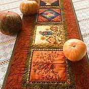 Для дома и интерьера handmade. Livemaster - original item Decorative quilted patchwork napkin. Handmade.