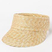 Аксессуары handmade. Livemaster - original item Straw sun visor. Handmade.