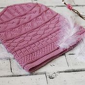 Материалы для творчества handmade. Livemaster - original item Schemes for knitting: hat spokes Rhythm (Rhythm). Handmade.