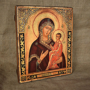 Pictures and panels handmade. Livemaster - original item Icon Of The Most Holy Mother Of God