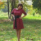 Одежда ручной работы. Ярмарка Мастеров - ручная работа Платье с орнаментом. Handmade.