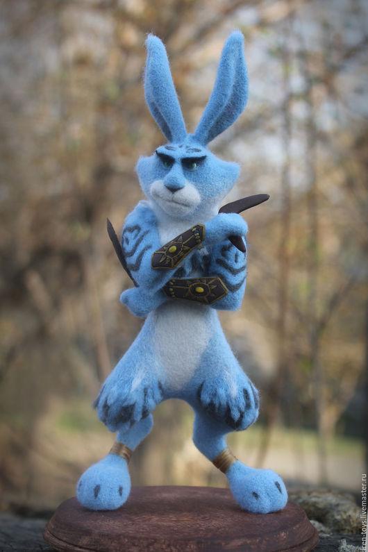 """Куклы и игрушки ручной работы. Ярмарка Мастеров - ручная работа. Купить Пасхальный кролик """" Хранители снов"""". Handmade. Голубой"""