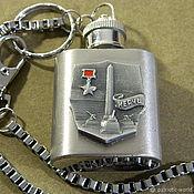 Сувениры и подарки handmade. Livemaster - original item Flask-keychain with symbols of VICTORY