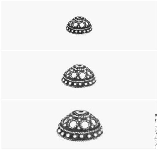 Для украшений ручной работы. Ярмарка Мастеров - ручная работа. Купить Обниматель из серебра №5. Handmade. Серебряный, серебряная фурнитура