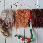 Материалы для творчества ручной работы. Ярмарка Мастеров - ручная работа Волосы для куклы (трессы для кукол). Handmade.