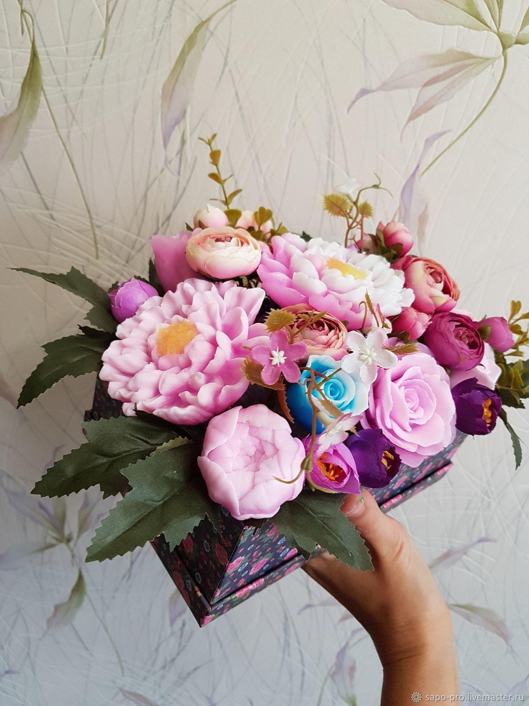 Букет цветов из мыла, Мыло, Москва, Фото №1