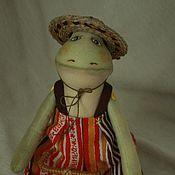 Куклы и игрушки ручной работы. Ярмарка Мастеров - ручная работа Дядюшка Фрог. Handmade.