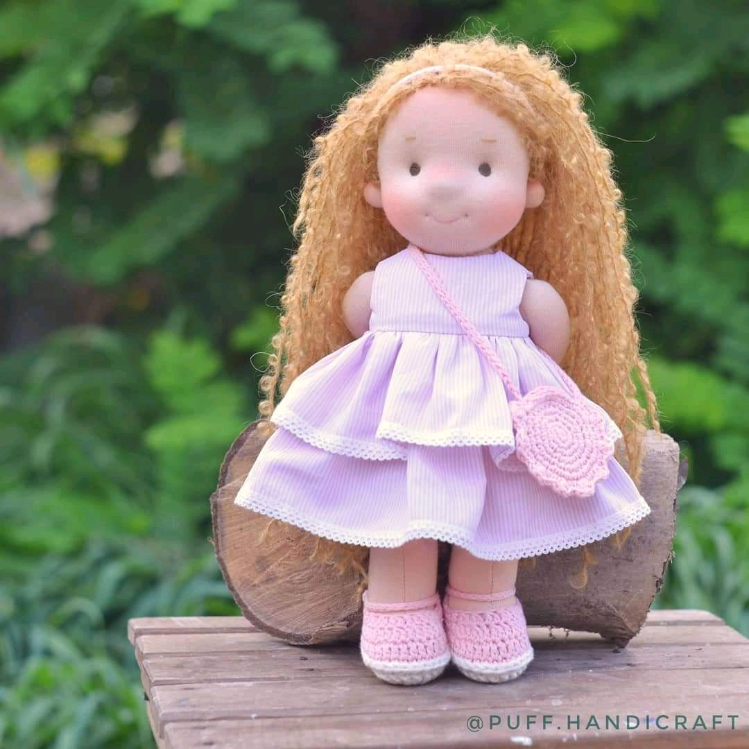 Вальдорфская кукла ростом 35 см, Куклы и пупсы, Одесса,  Фото №1