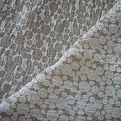 """Для дома и интерьера ручной работы. Ярмарка Мастеров - ручная работа Покрывало из льна """"Нолики""""140х205,есть возможность изменить  длину. Handmade."""
