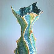 """Для дома и интерьера ручной работы. Ярмарка Мастеров - ручная работа Ваза """"Песнь моря"""". Handmade."""