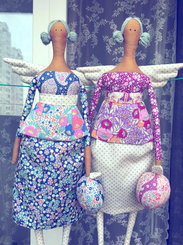 Тильды из коллекции от Tilda Fabrics Old Rose and Angel scraps, Тильды, Ростов-на-Дону, Фото №1