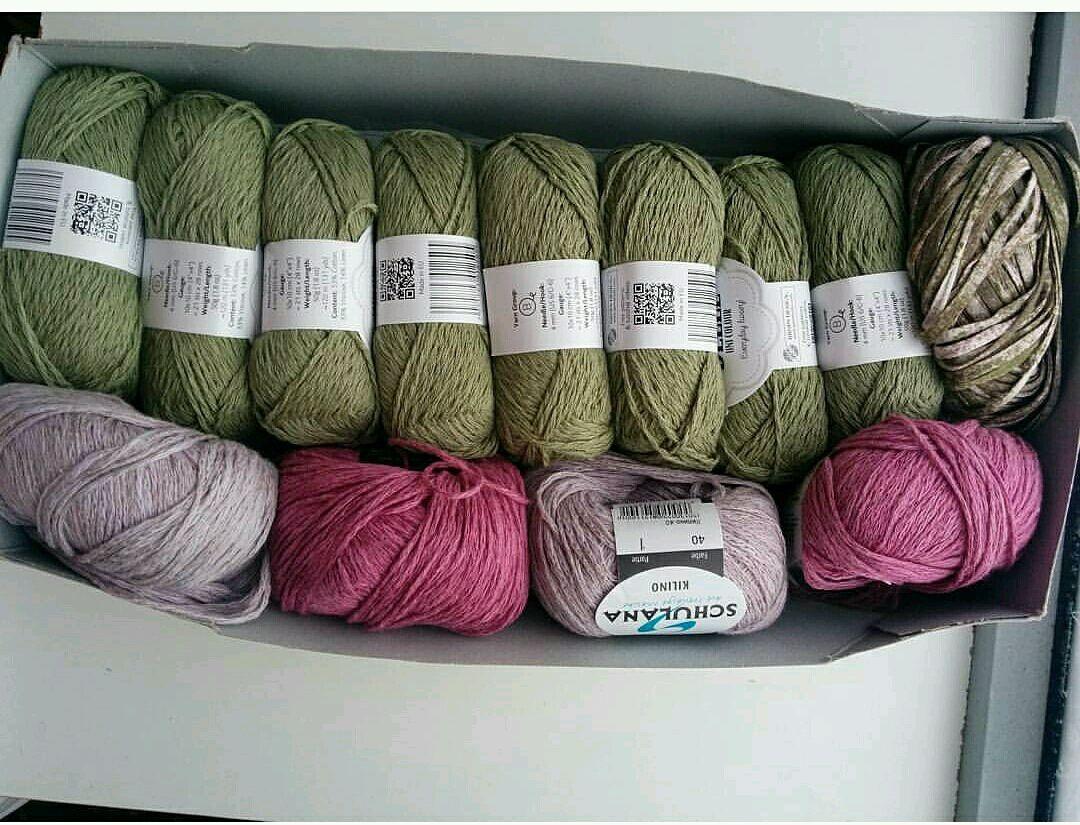 Пряжа из льна для вязания 1
