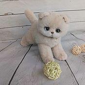 Игрушка из нат меха котенок Гламура