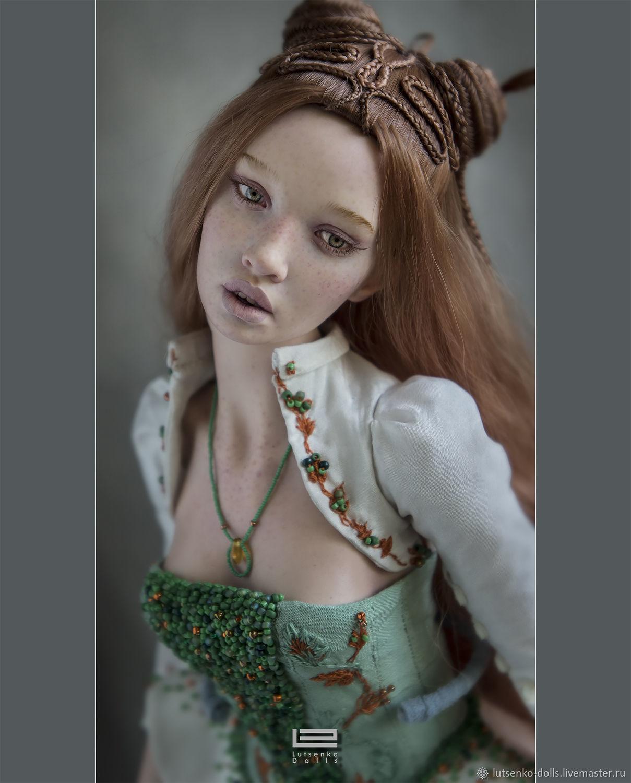 Коллекционные куклы ручной работы. Ярмарка Мастеров - ручная работа. Купить Ева, фаррфор. Handmade. Коллекционная кукла, кукла из фарфора