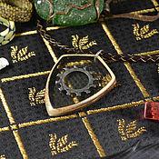Субкультуры handmade. Livemaster - original item Steel Sun knights magical amulet Shield magical pendant magic amulet. Handmade.
