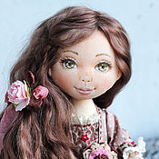 Куклы и пупсы ручной работы. Ярмарка Мастеров - ручная работа Кукла коллекционная Иринка (повтор), интерьерная кукла. Handmade.